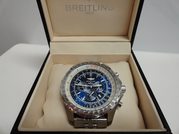 T Motors Blue Dial - Breitling Replica Watches Reviews