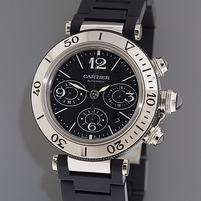 Cartier King Size Chronograph Pasha Seatimer replica