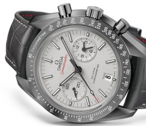 """Leather Strap Omega Speedmaster """"Grey Side Of The Moon"""" Replica Watches"""