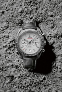 """Leather Strap Omega Speedmaster """"Grey Side Of The Moon"""" Fake Watches"""