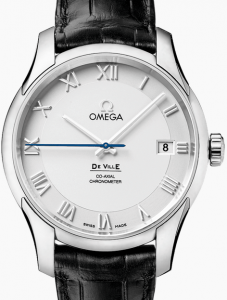 Swiss Omega De Ville Co-Axial Replica Watches With 8500 Co-Axial Movements
