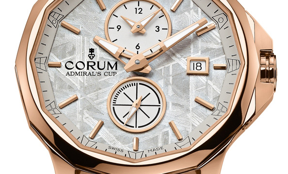 Corum Admiral's Cup Legend 42 Meteorite Dual Time