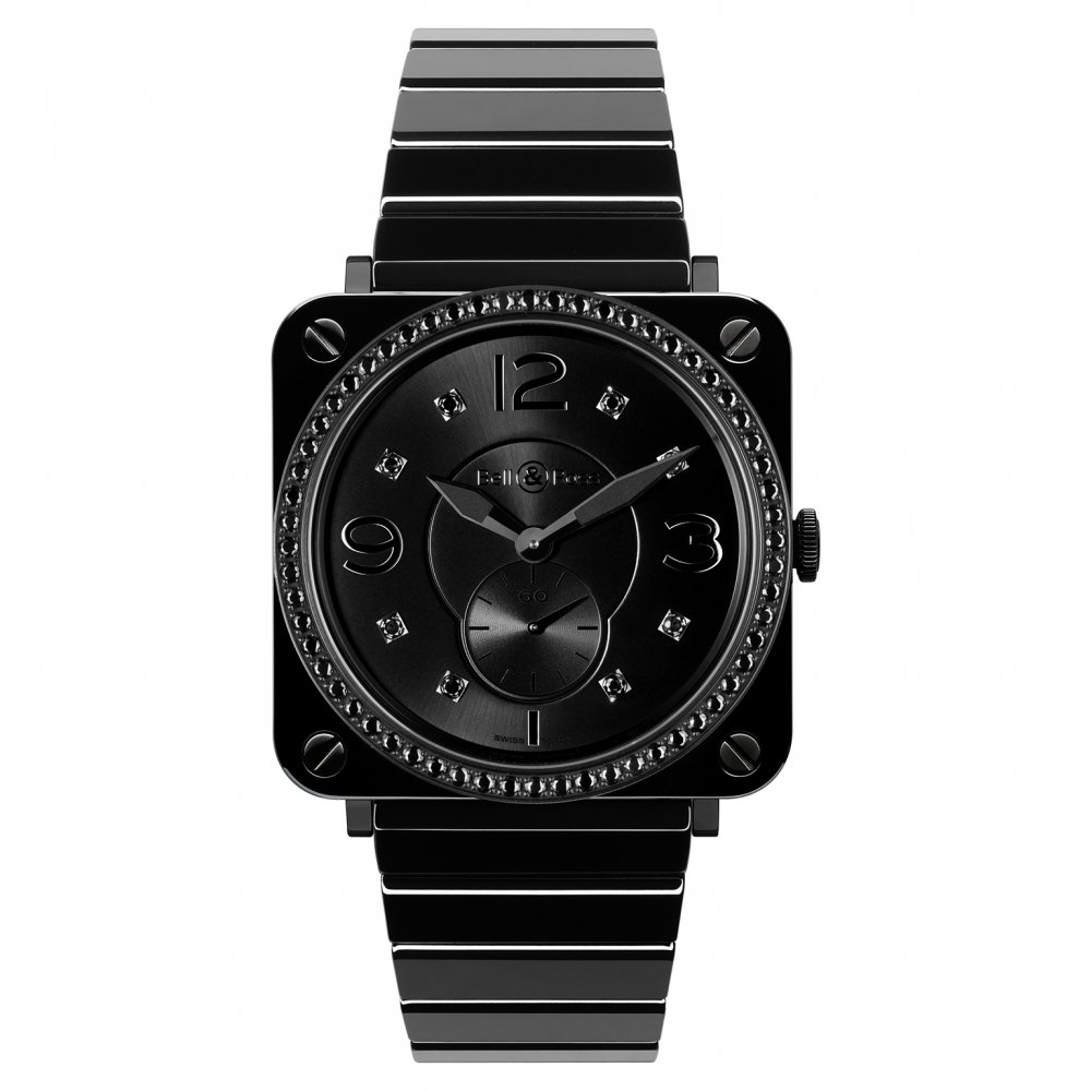 Bell & Ross BR S Black Ceramic Phantom Diamonds