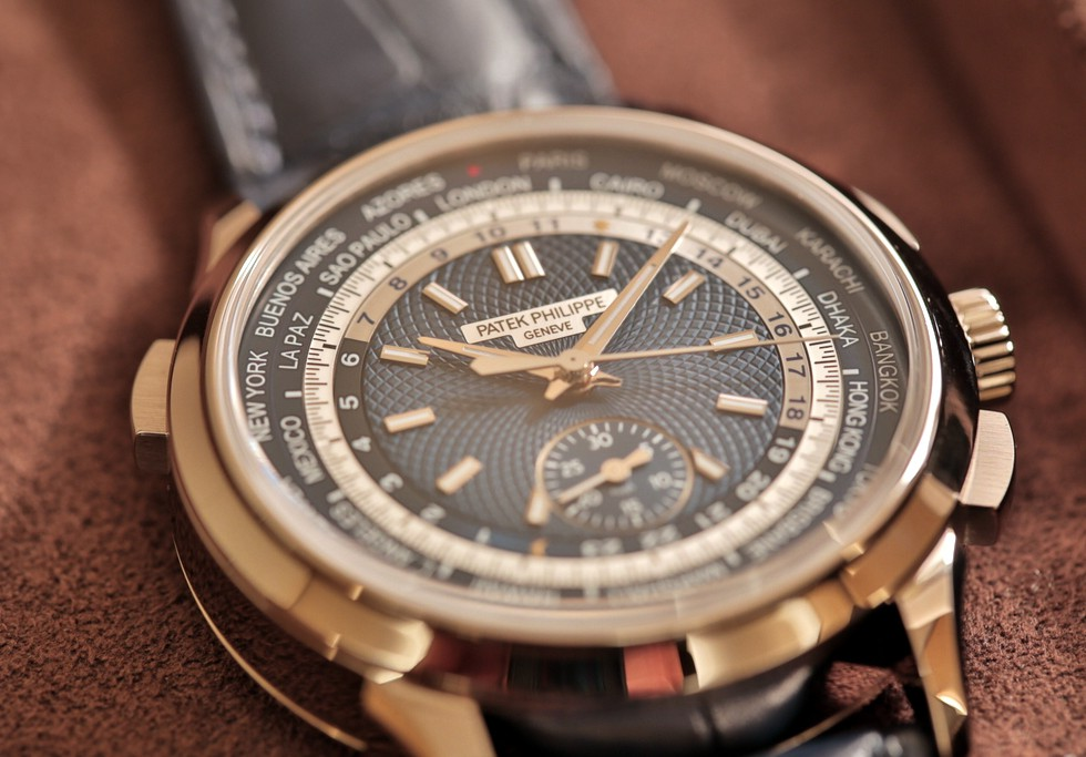 World Time Chronograph