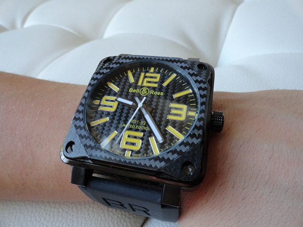 Bell Ross 01-92 Carbon Fiber Replica Watch