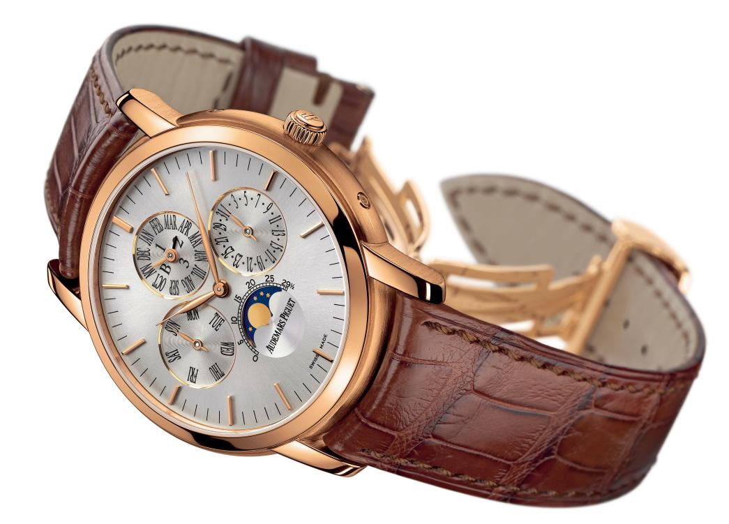 Audemars Piguet Jules Audemars Pink Gold Replica Watch