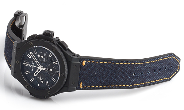 45mm Hublot Big Bang Jeans Ceramic Limited Edition Watch Replica Online