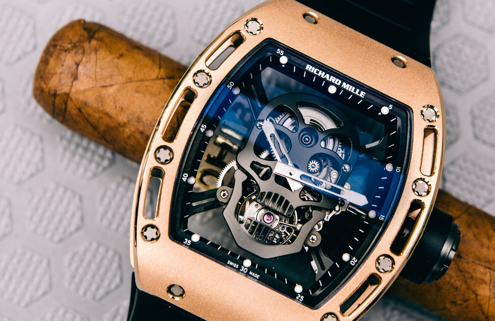 Richard Mille RM052-01 Skull Tourbillon