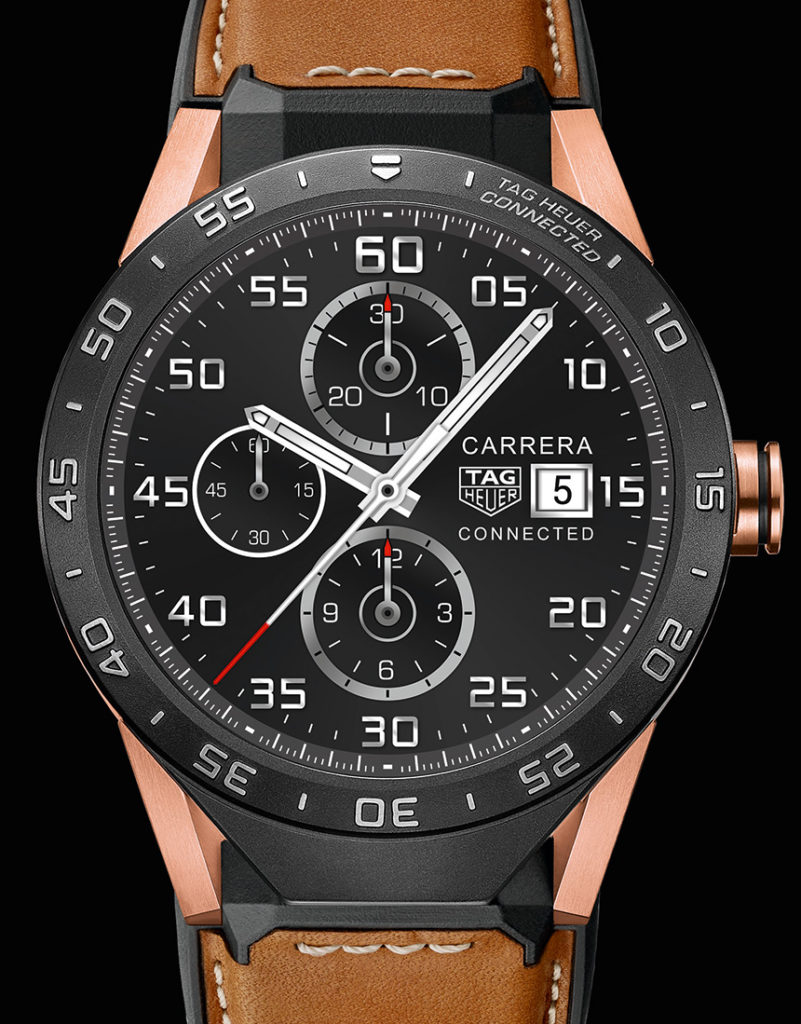 TAG Heuer Connected Smartwatch In Rose Gold Watch Releases