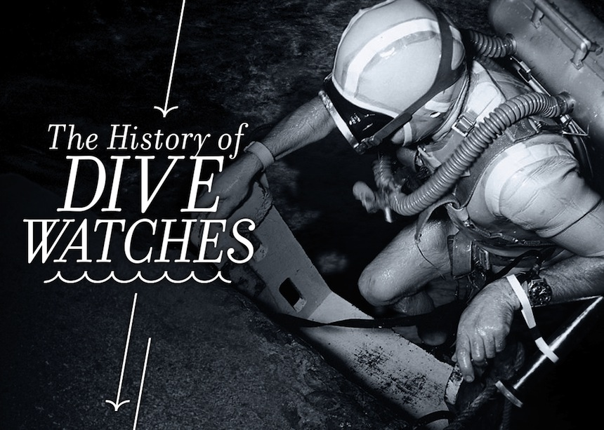 The History Of Dive Watches Feature Articles
