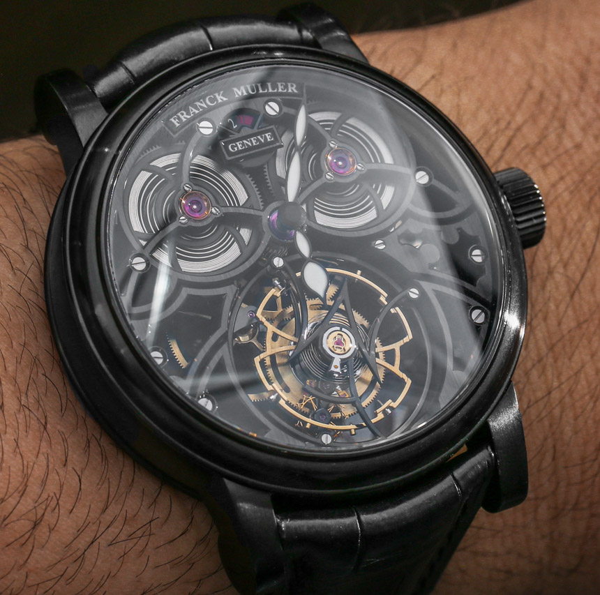 Franck Muller Giga Tourbillon Watches Hands-On Hands-On