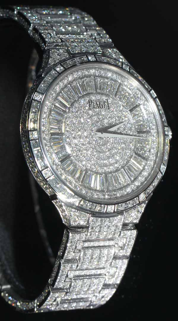 Full Pave: A Collection Of Diamond-Studded Swiss Watches Watch Style
