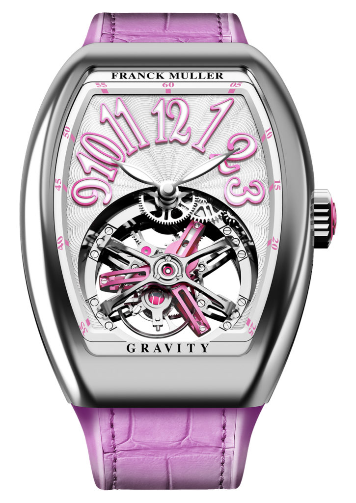 Franck Muller Vanguard Lady Tourbillon Gravity And Vanguard Heart Skeleton Watch Releases Watches for women